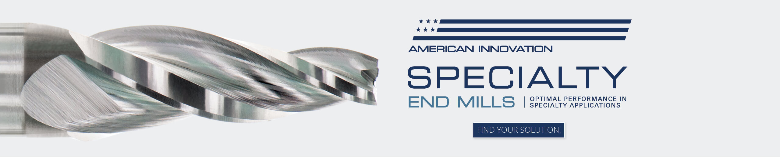 Conical Cutting Tools Specialty End Mills Banner